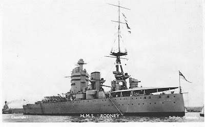 warship: HMS Rodney photos